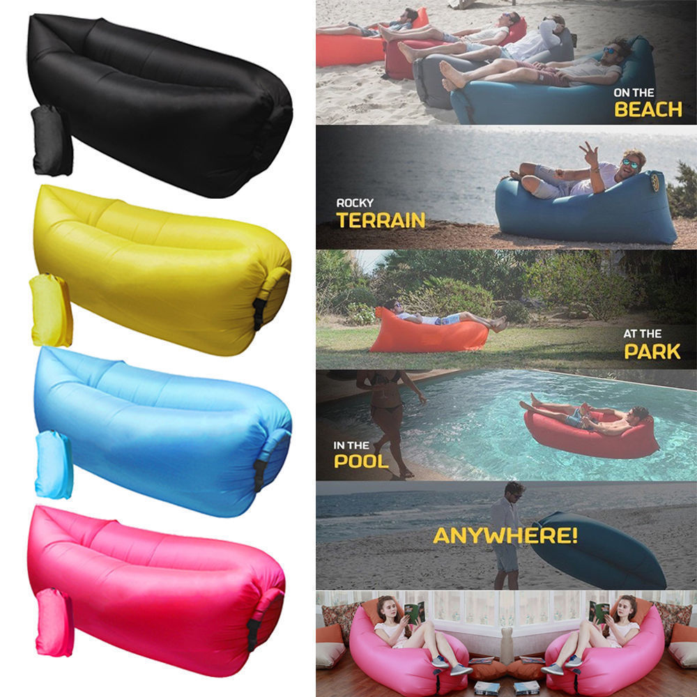 Retro Inflatable Sofa Pouch Inflatable Couch Air Sofa