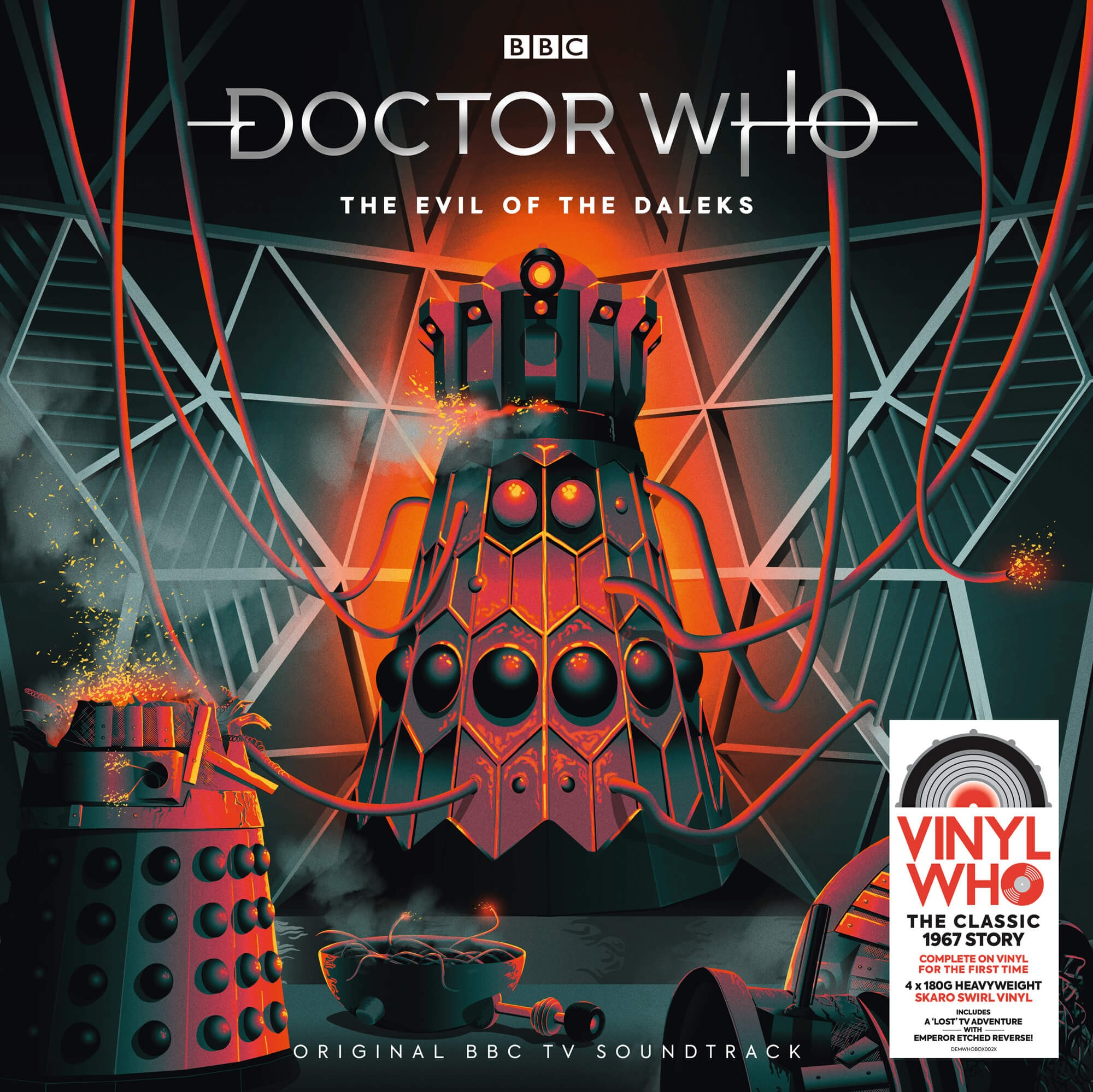 Swirls Verwijderen The Missing Doctor Who Adventure The Evil Of The Daleks Comes To