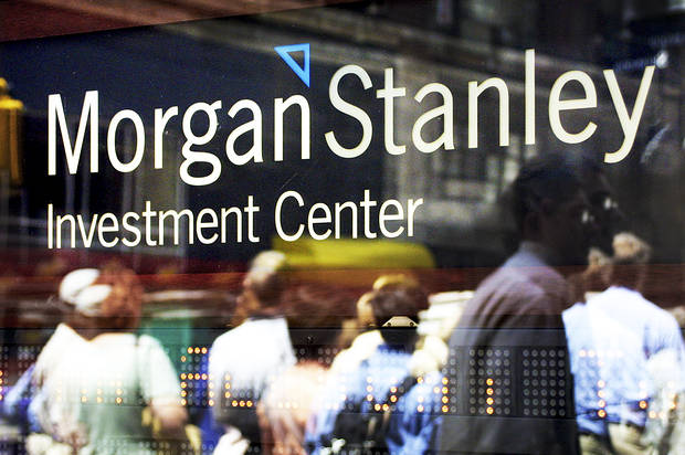 Morgan Stanley reports strong third-quarter earnings and its stock