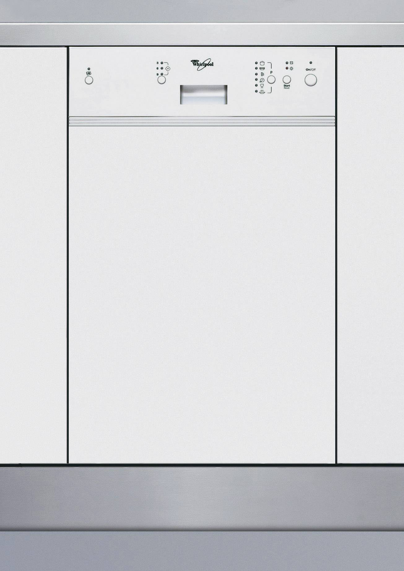 Einbau Geschirrspüler 45 Cm Einbau-geschirrspüler 45 Cm Whirlpool Adg 555 Wh A+