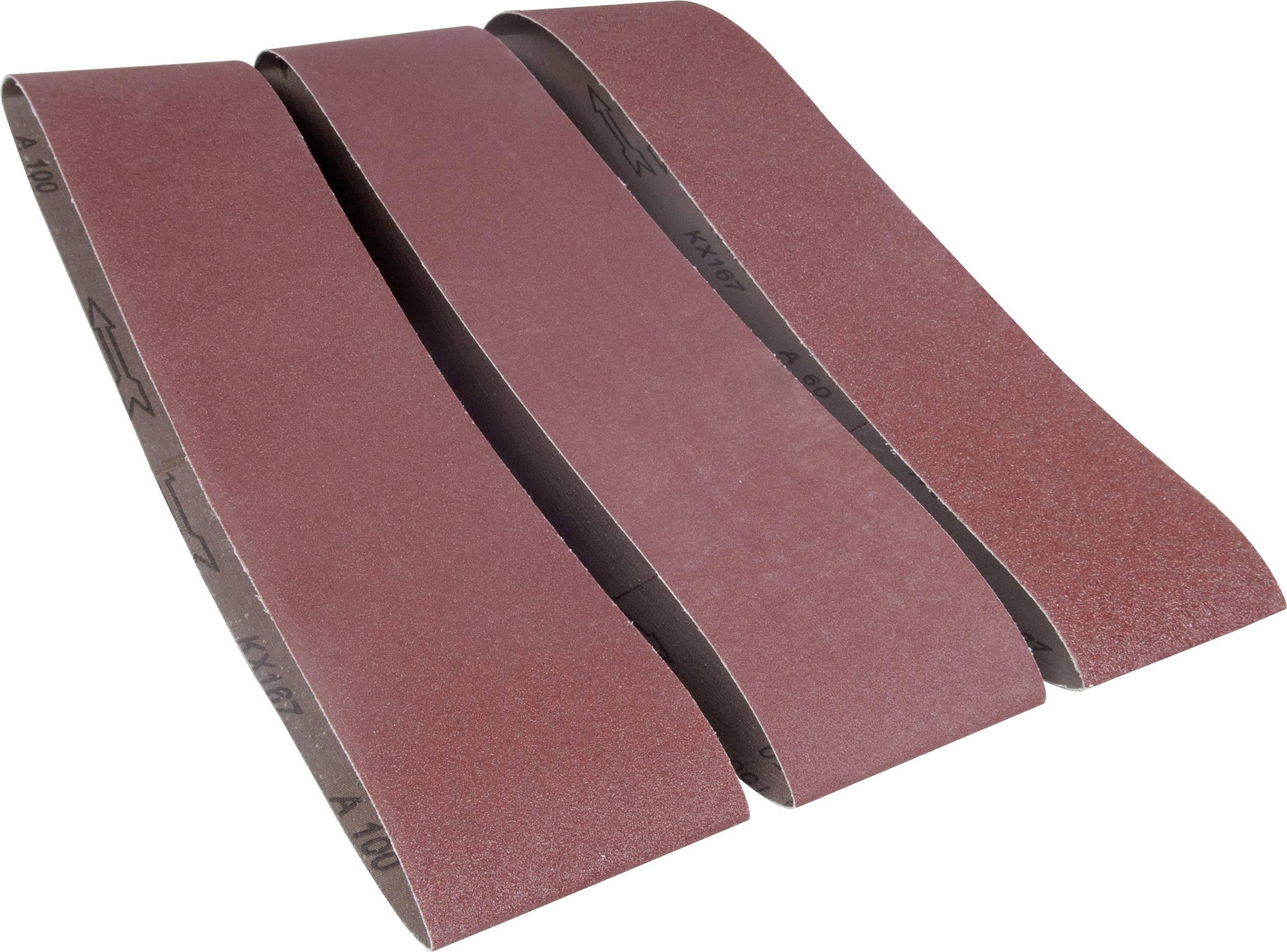 25 x Schleifbänder Schleifband Gewebebänder für Powerfeile 75x533 mm NEU