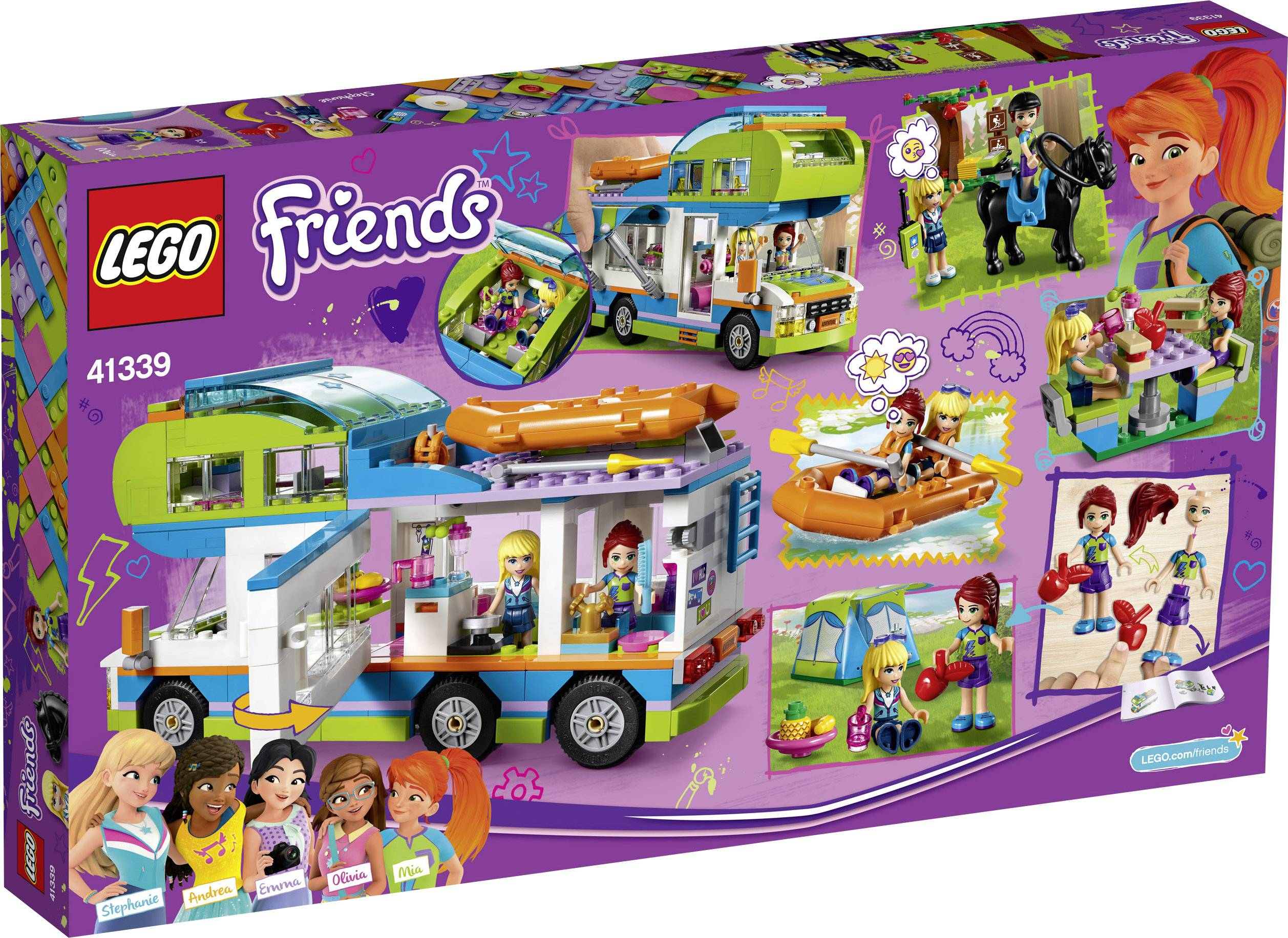 Power Splitter Küche Conrad Lego Friends 41339 Mias Wohnmobil