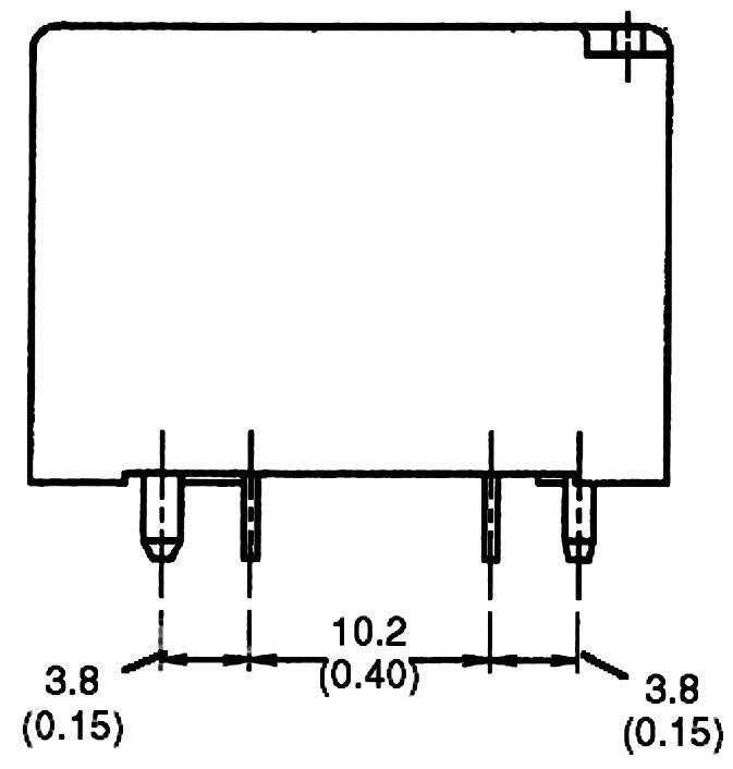 spdt relay pcb mount