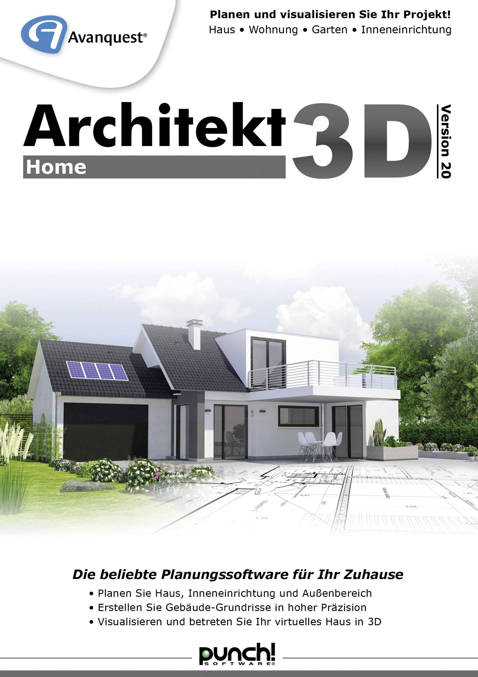 3d Architekt Avanquest Architekt 3d 20 Home Full Version 1 License Windows Planning
