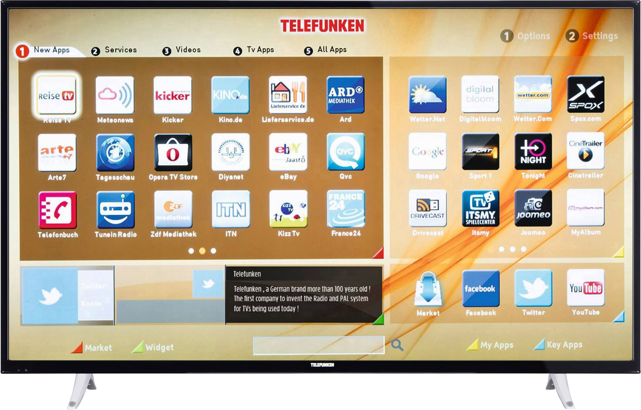 Telefunken Test Telefunken A55f446a Led Tv 140 Cm 55
