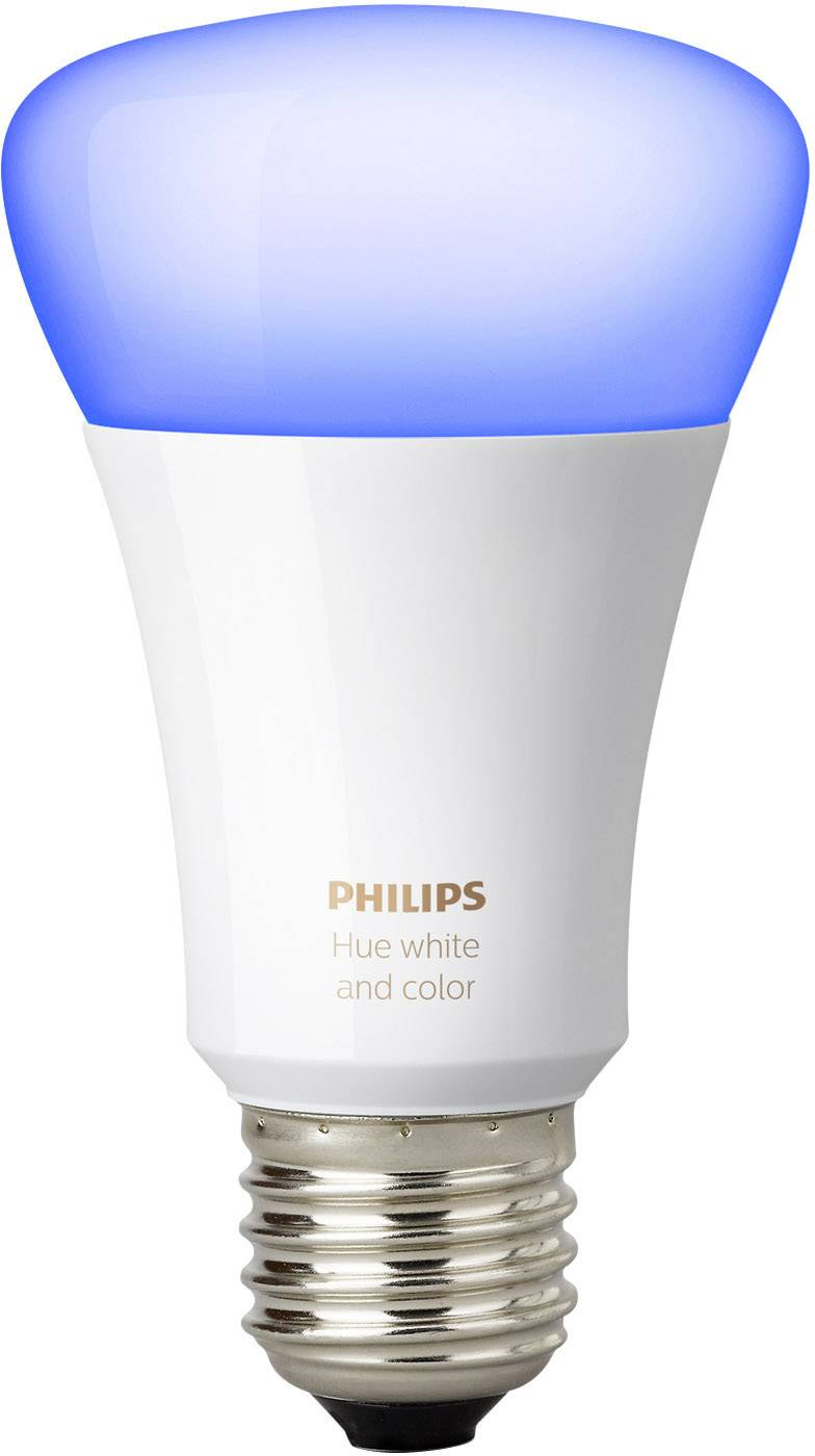 Led Lampen E27 10 Watt Philips Lighting Hue Led Light Bulb Single White And Color Ambiance Eec A A E E27 10 W Rgbw