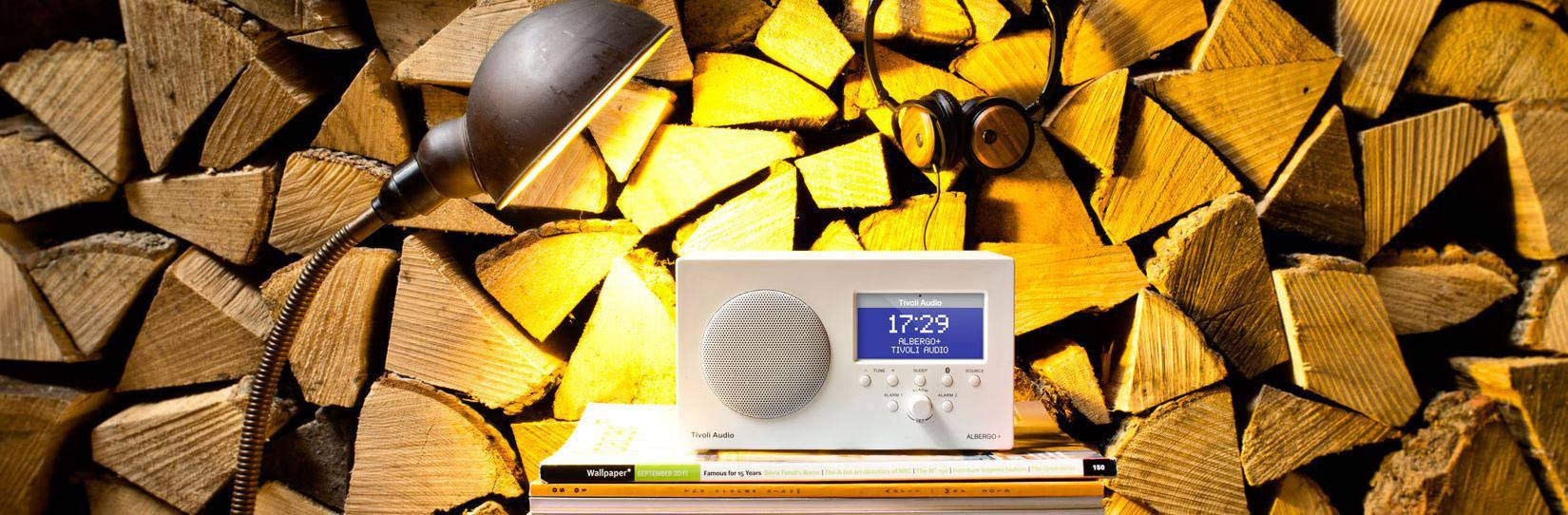 Tivoli Audio Yellow Tivoli Audio Albergo Dab Radio Alarm Clock Aux Bluetooth Dab Fm Graphite