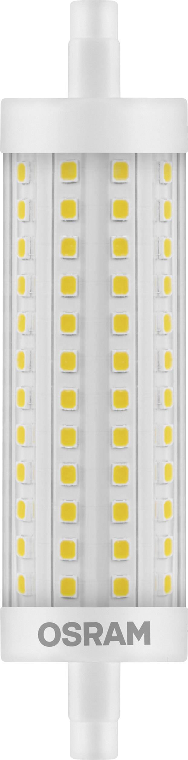 Led R7s Dimmbar Osram 4058075811744 Led (monochrome) Eec A++ (a++ - E) R7s Rod 15 W = 125 W Warm White (Ø X L) 29 Mm X 118 Mm Dimmable 1 | Conrad.com