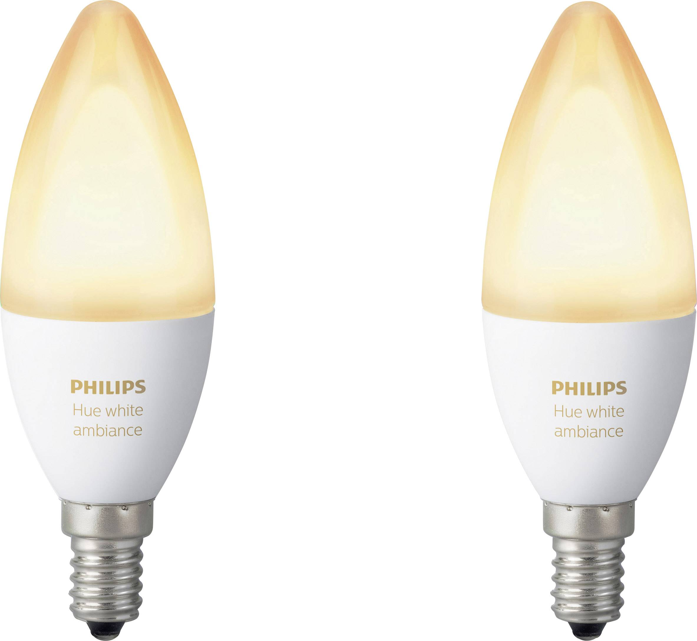 E14 Led Philips Philips Lighting Hue Led Light Bulb Pack Of 2 White Ambiance Eec A A E E14 Warm White Neutral White Cold Wh