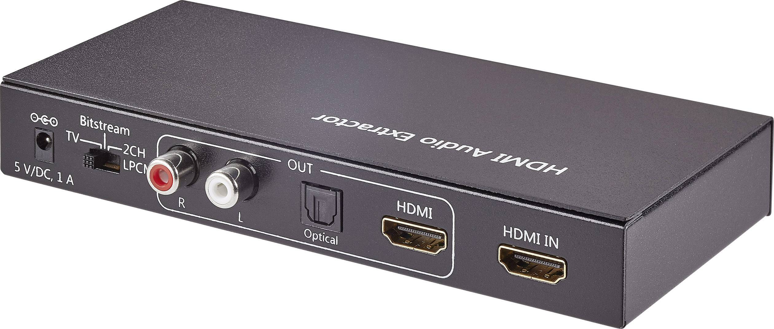 Optisch Naar Tulp Audio Extractor Hdmi Hdmi Toslink Cinch 1920