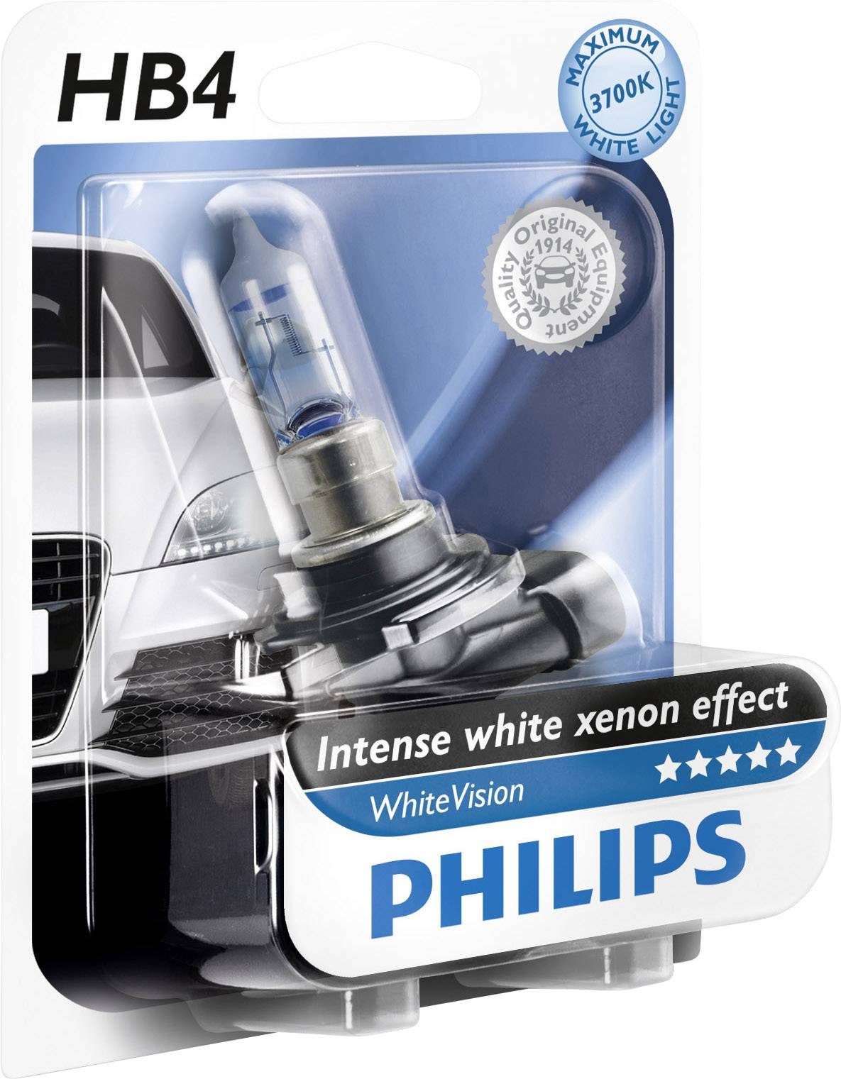 Xenon Verlichting En Halogeen Philips Halogeenlamp Whitevision Xenon Effect Hb4 55 W