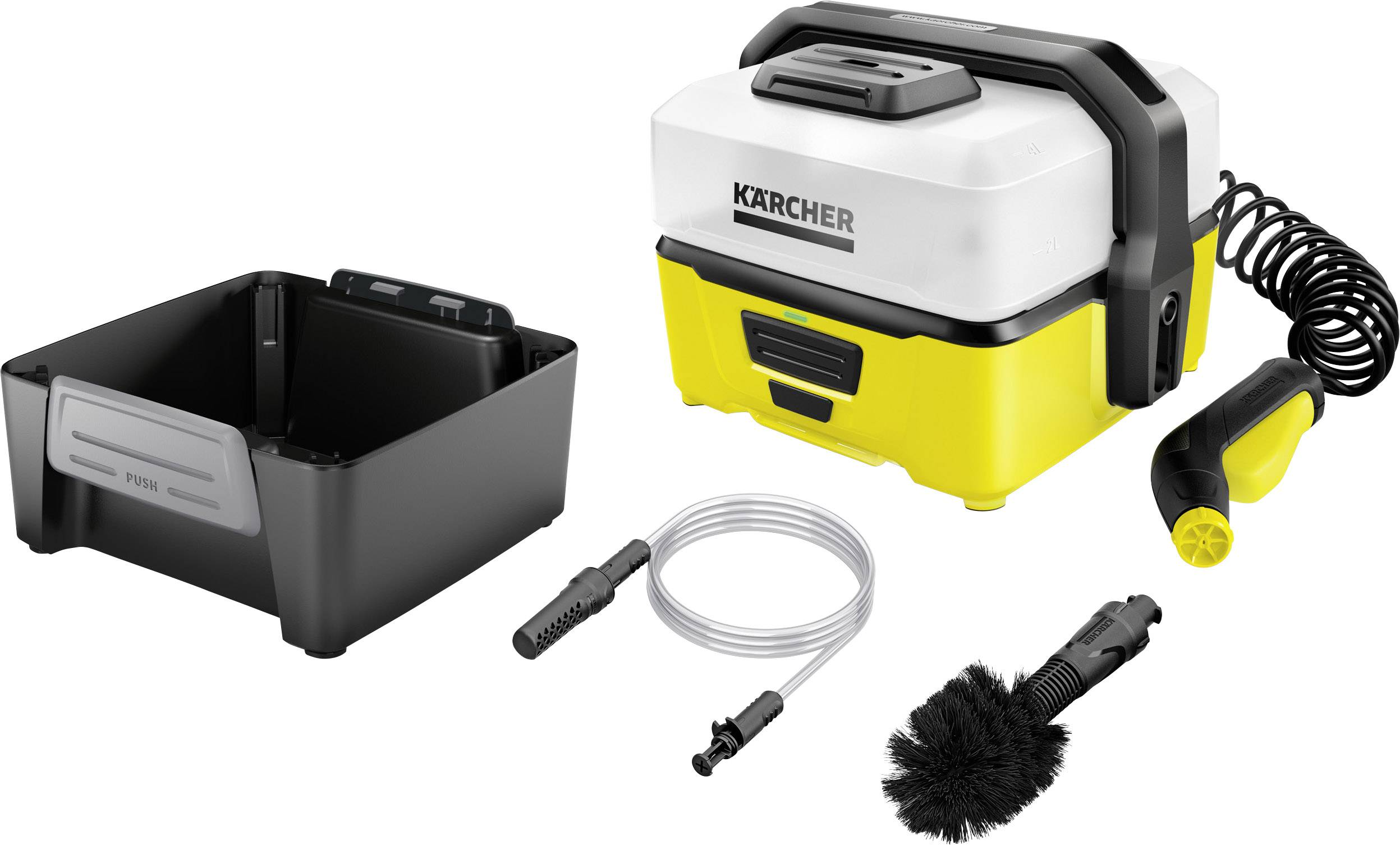 Karcher Reiniger Kärcher Oc 3 Mobile Adventure Box Mobiel Wasstation 5 Bar Koud Water