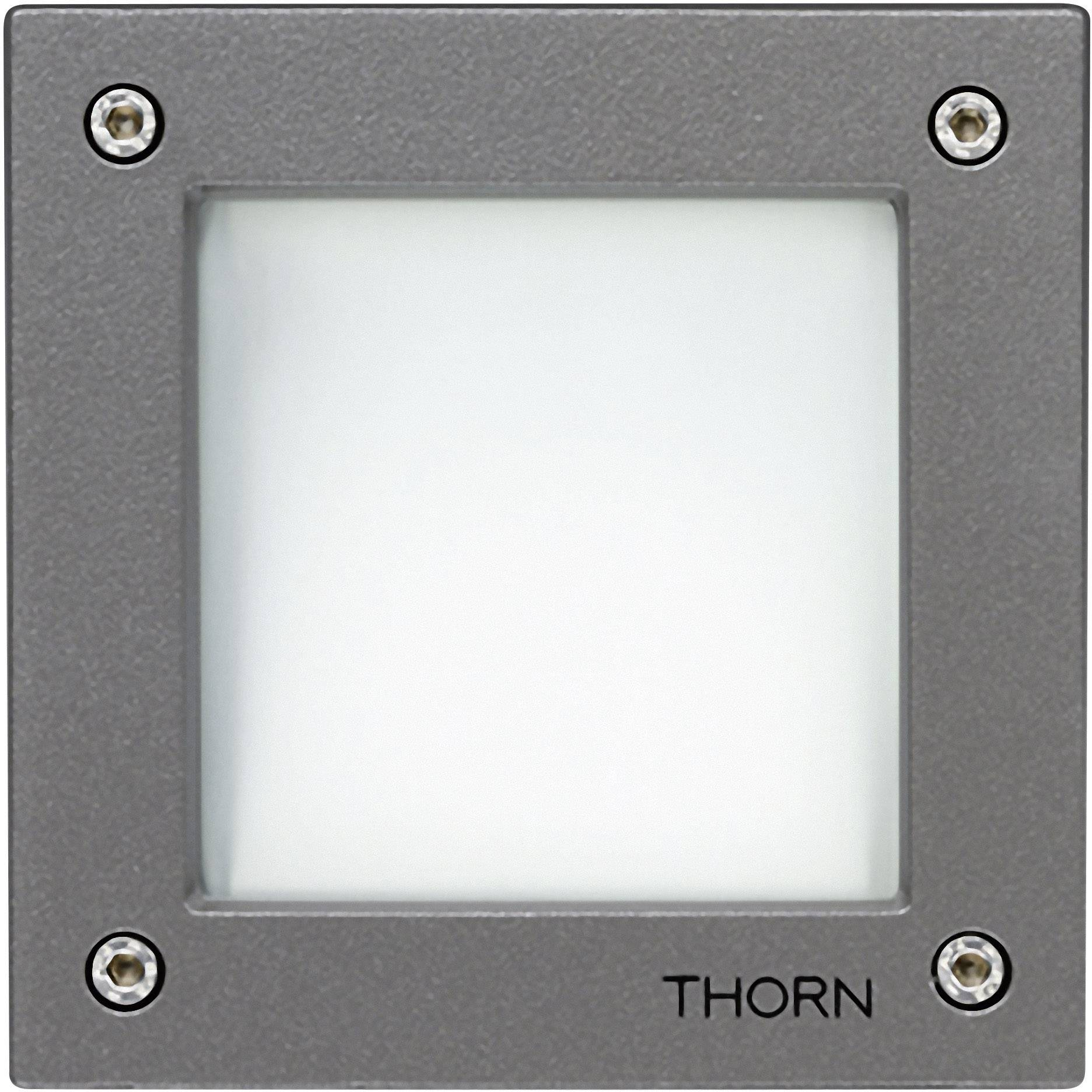 Thorn Verlichting Led Inbouw Buitenlamp 3 4 W Energielabel Led A E Neutraal Wit Thorn Linn 96262125 Grijs