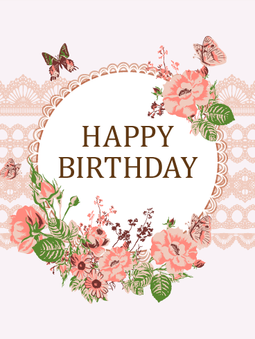 Cute Roses Wallpapers With Wordings Happy Birthday Flower Cards Birthday Amp Greeting Cards By