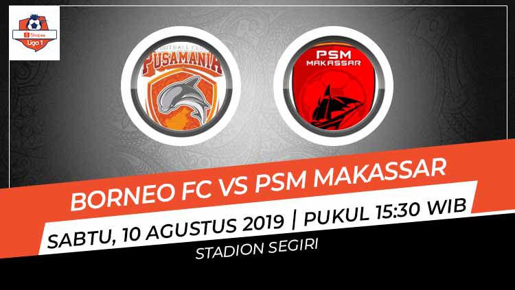 Susunan Pemain Pertandingan Liga 1 2019 Borneo Fc Vs Psm