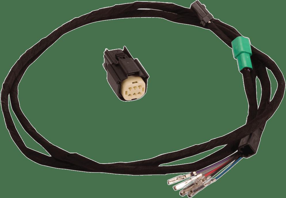 custom road king wiring harness