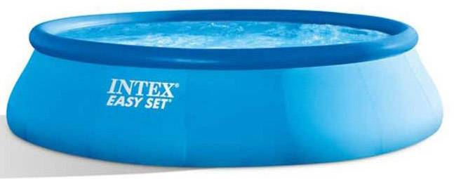 Jumbo Pool Abdeckplane Intex Easy Set Pool 26168gn