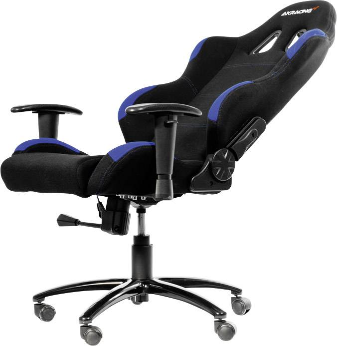 Stuhl Gamer Akracing Gaming Stuhl Gaming Chair Schwarz Blau