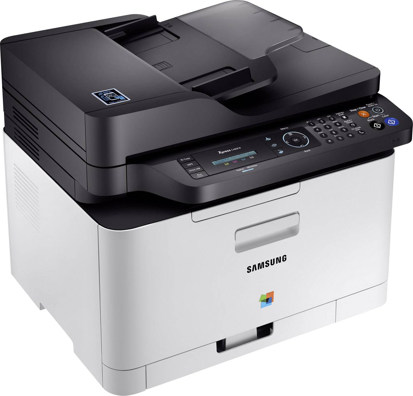 Samsung Multifunktionsdrucker Samsung Xpress C480fw Farblaser Multifunktionsdrucker A4