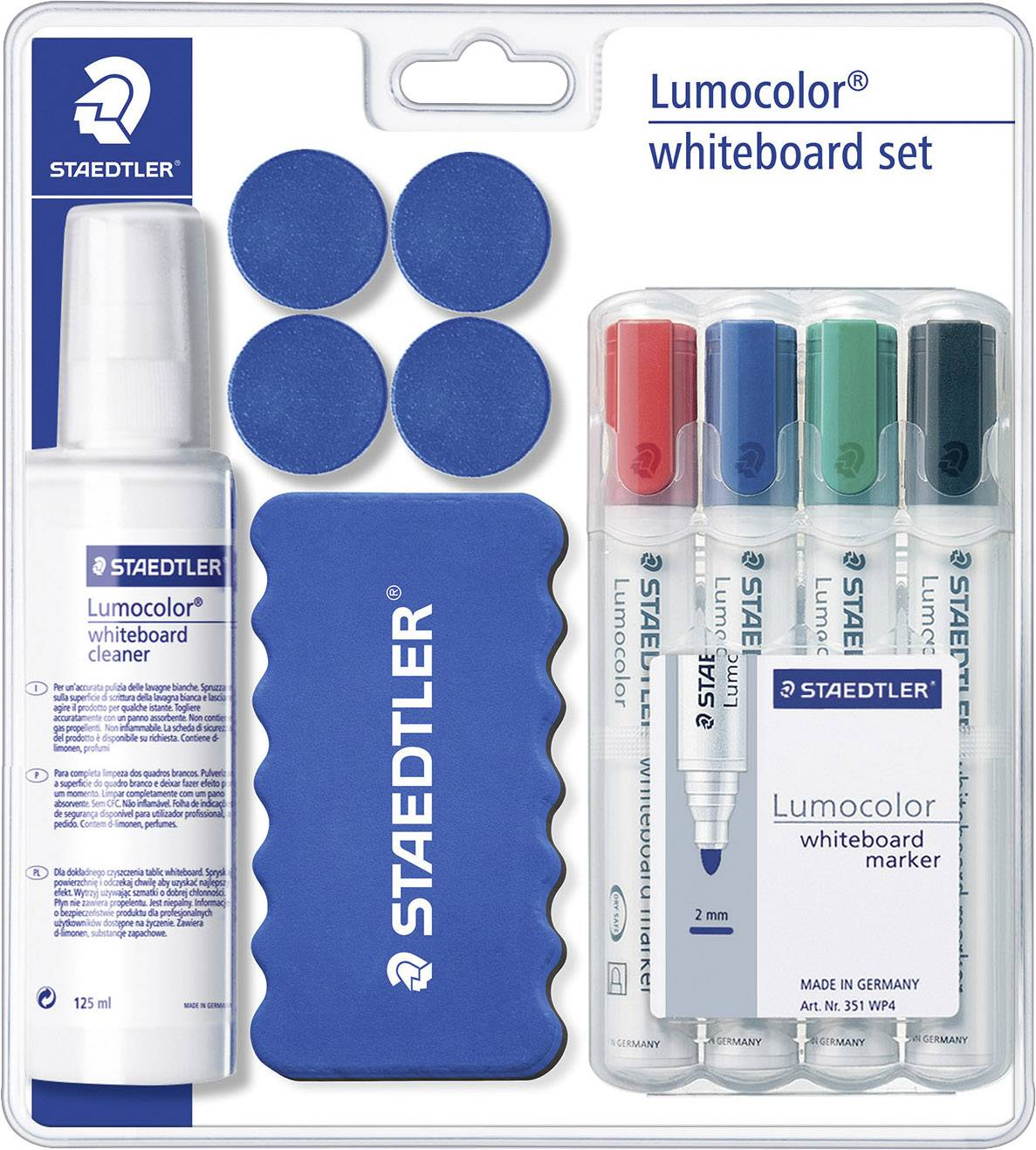 Whiteboard Wischer Staedtler Whiteboardmarker Lumocolor Whiteboard Set 613 S