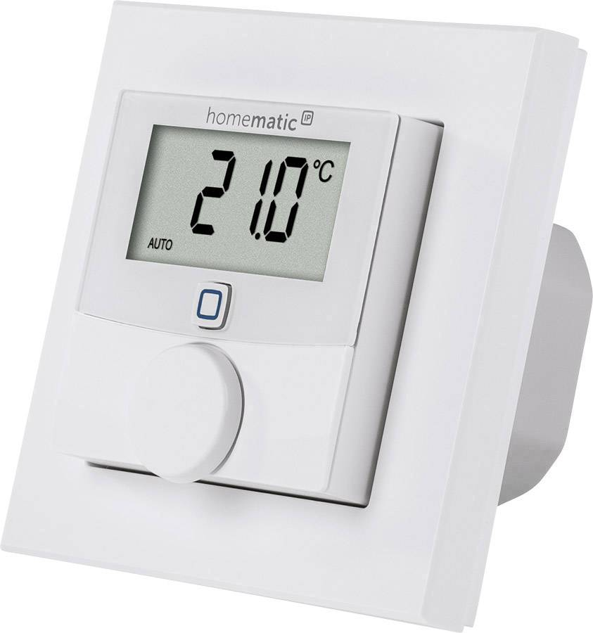 Smart Home Wandthermostat Homematic Ip Funk Wandthermostat Hmip Bwth 230v
