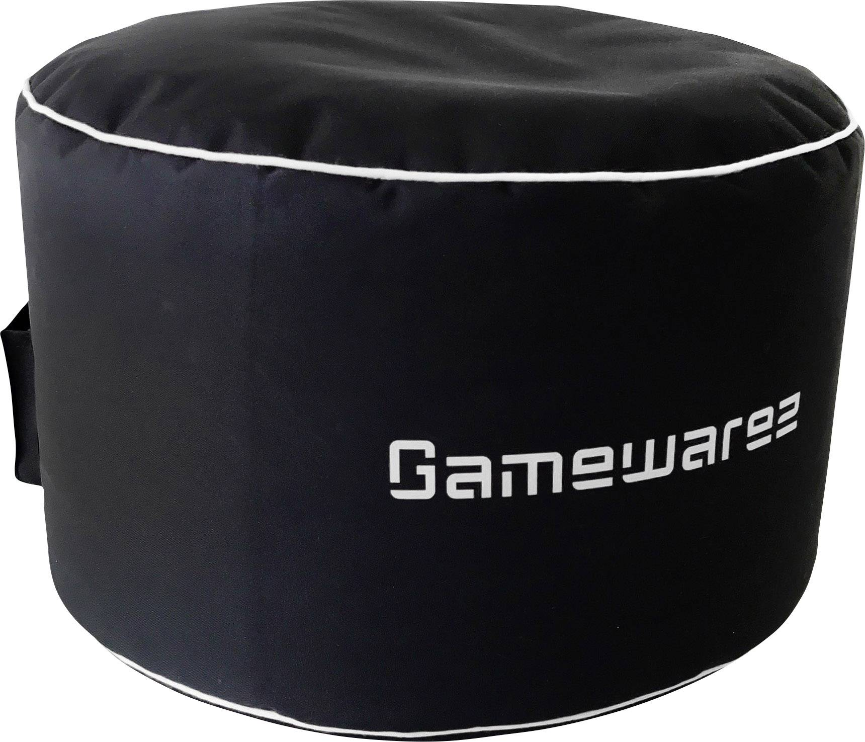 Hocker Grau Gamewarez Gaming Hocker Cosmic Station Schwarz Grau