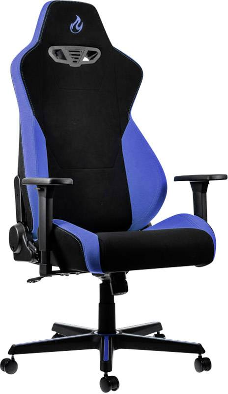 Amazon Gaming Stuhl Nitro Concepts Gaming Stuhl S300 Galactic Blue Schwarz