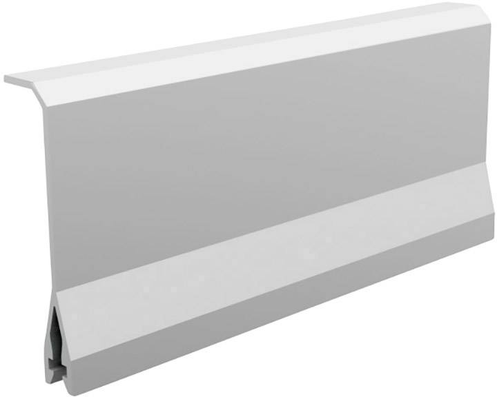 Metall Kabelkanal Alu Kabelkanal Schwarz Eckig 115x3 7cm Fur Tv