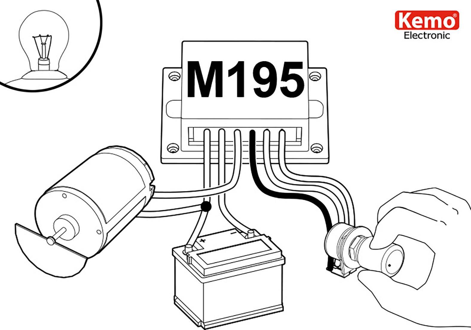 baustein c auto electrical wiring diagramkemo pwm leistungsregler baustein m195 9 v dc 12 v dc 24