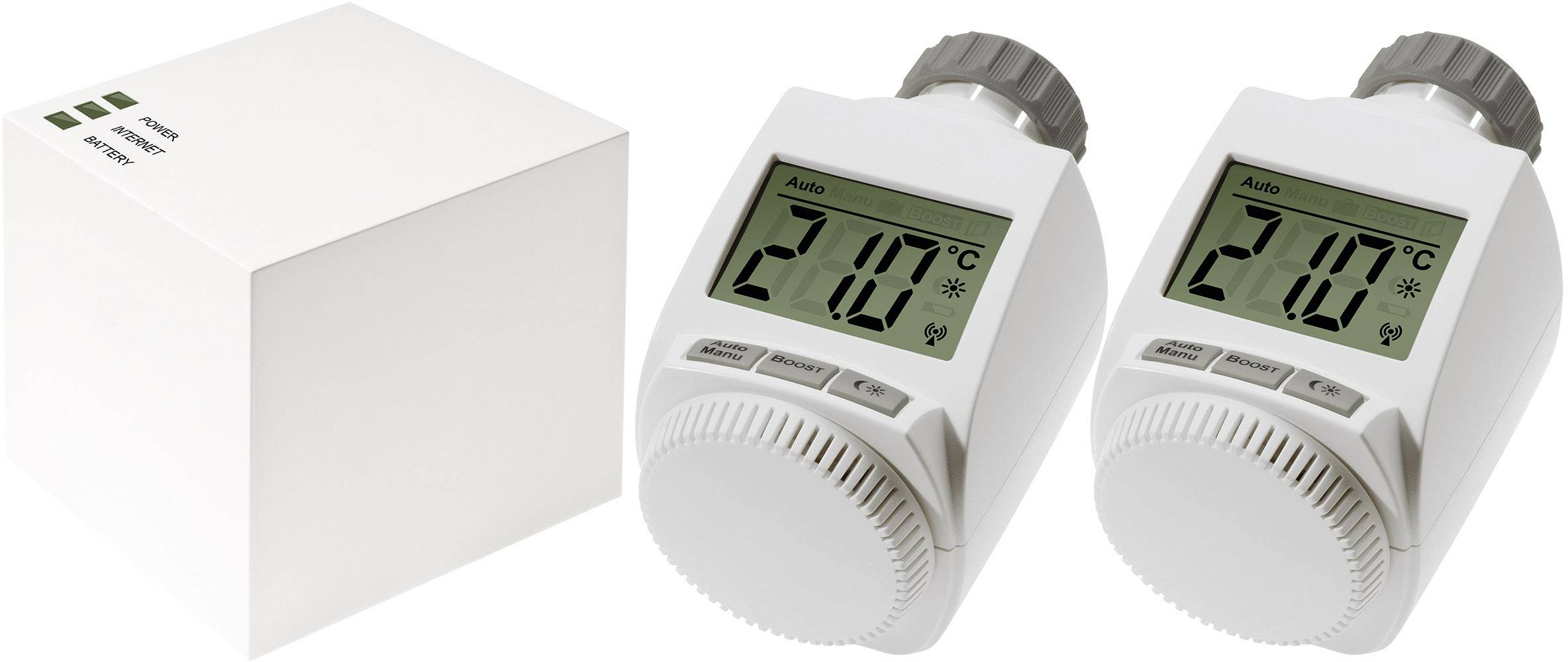 Heizkörperthermostat Max Max Funk Heizkörperthermostat Set Cube Two