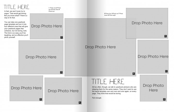 The Only Yearbook Page Template You Need