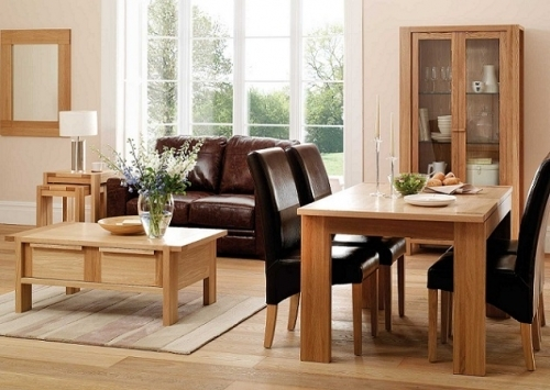 light wood floors also go well with light wood furniture and cream