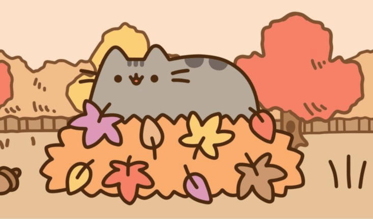 Leaves Fall Desktop Wallpaper Pusheen Box Fall 2017 Full Spoilers My Subscription