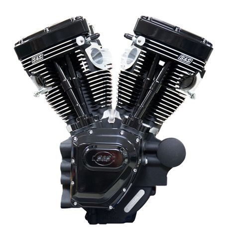 T143 Black Edition Longblock Engine for Select 2007-\u002716 HD® Twin Cam