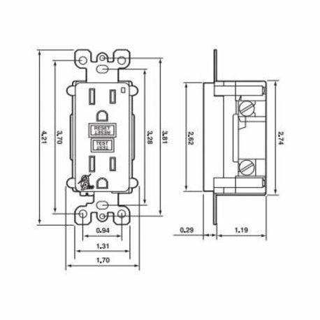 Diagram 3 Wire Gfci Duplex Schematic Wiring Diagram