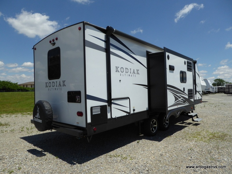 2018 Kodiak Travel Trailers Floor Plans Used 2018 Dutchmen Rv Kodiak Ultimate 279rbsl Travel Trailer