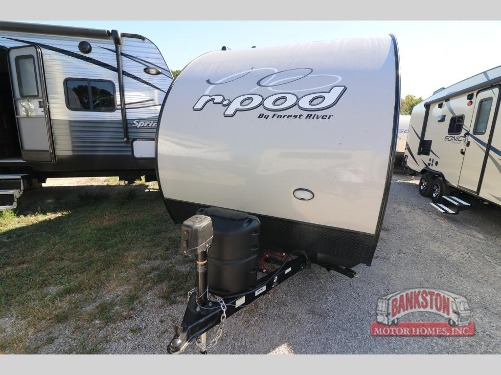 New 2019 Forest River RV R Pod RP-190 Travel Trailer at Bankston