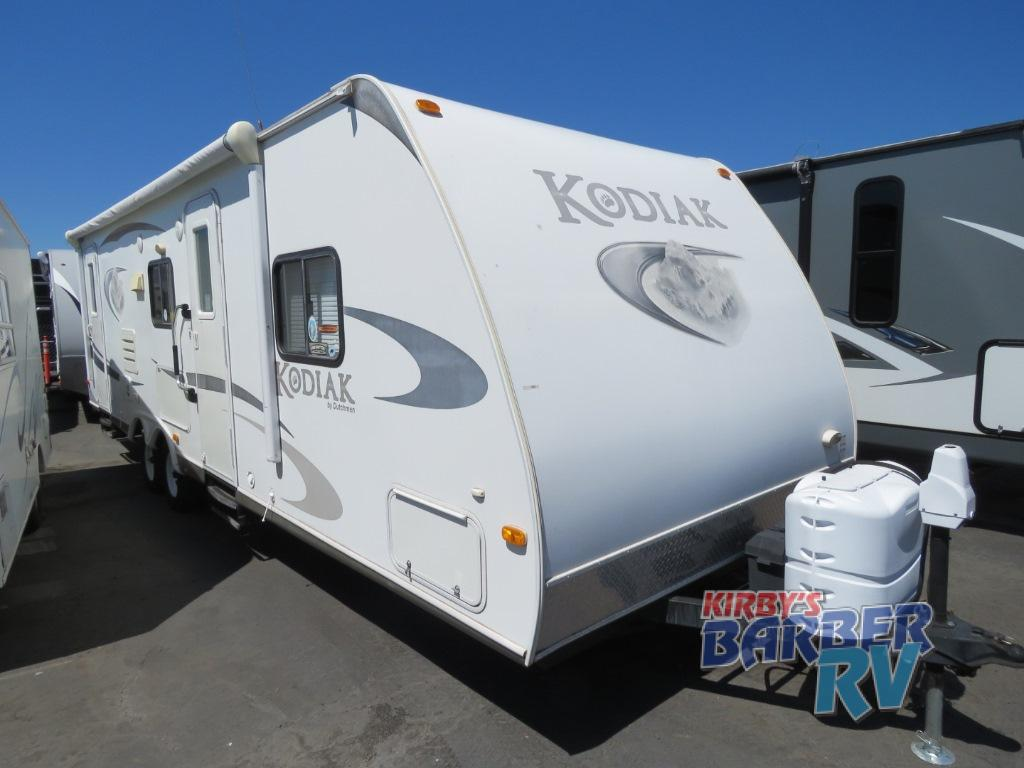 2018 Kodiak Travel Trailers Floor Plans Used 2010 Dutchmen Rv Kodiak 28bh Gs Travel Trailer Certified Pre Owned Unit