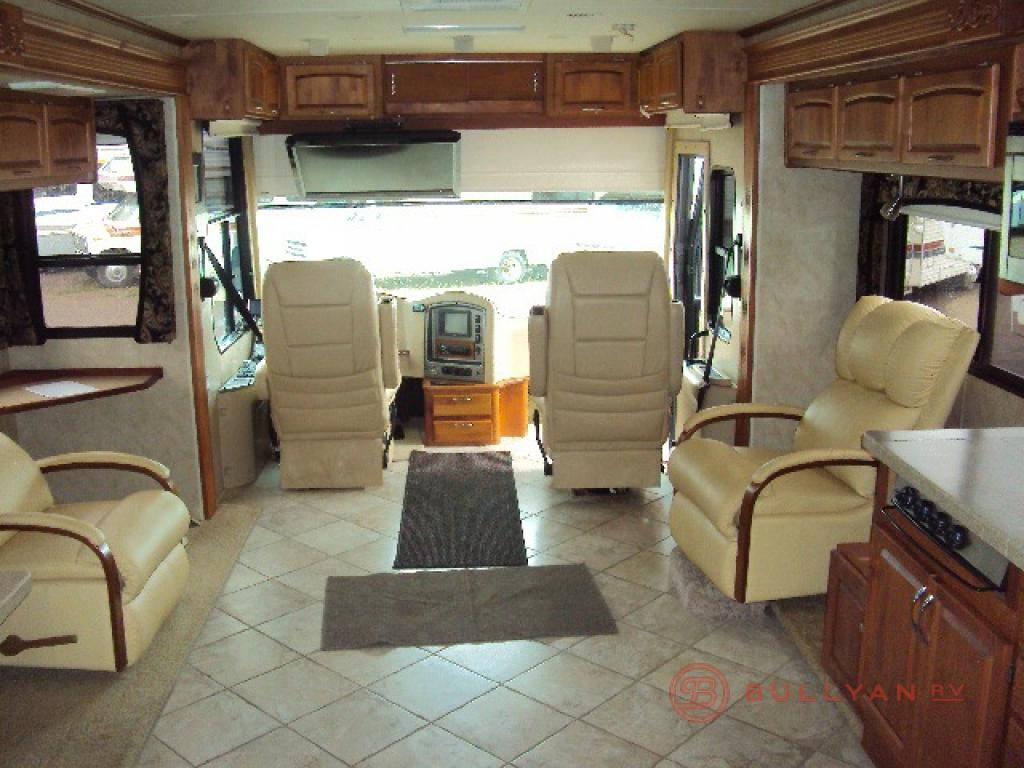 Kitchen Island Booth Used 2008 Holiday Rambler Ambassador 38 Pdq Motor Home