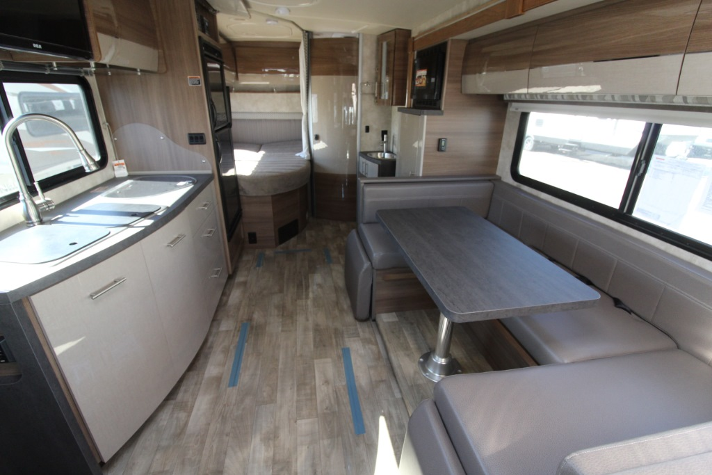 Kitchen Island Booth New 2019 Winnebago Navion Im524j Motor Home Class C