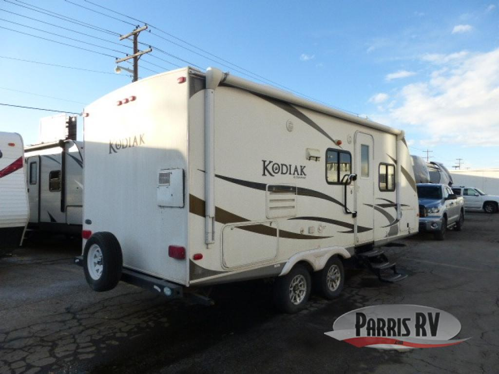 2018 Kodiak Travel Trailers Floor Plans Used 2011 Dutchmen Rv Kodiak 221rbsl Travel Trailer Excellent Condition