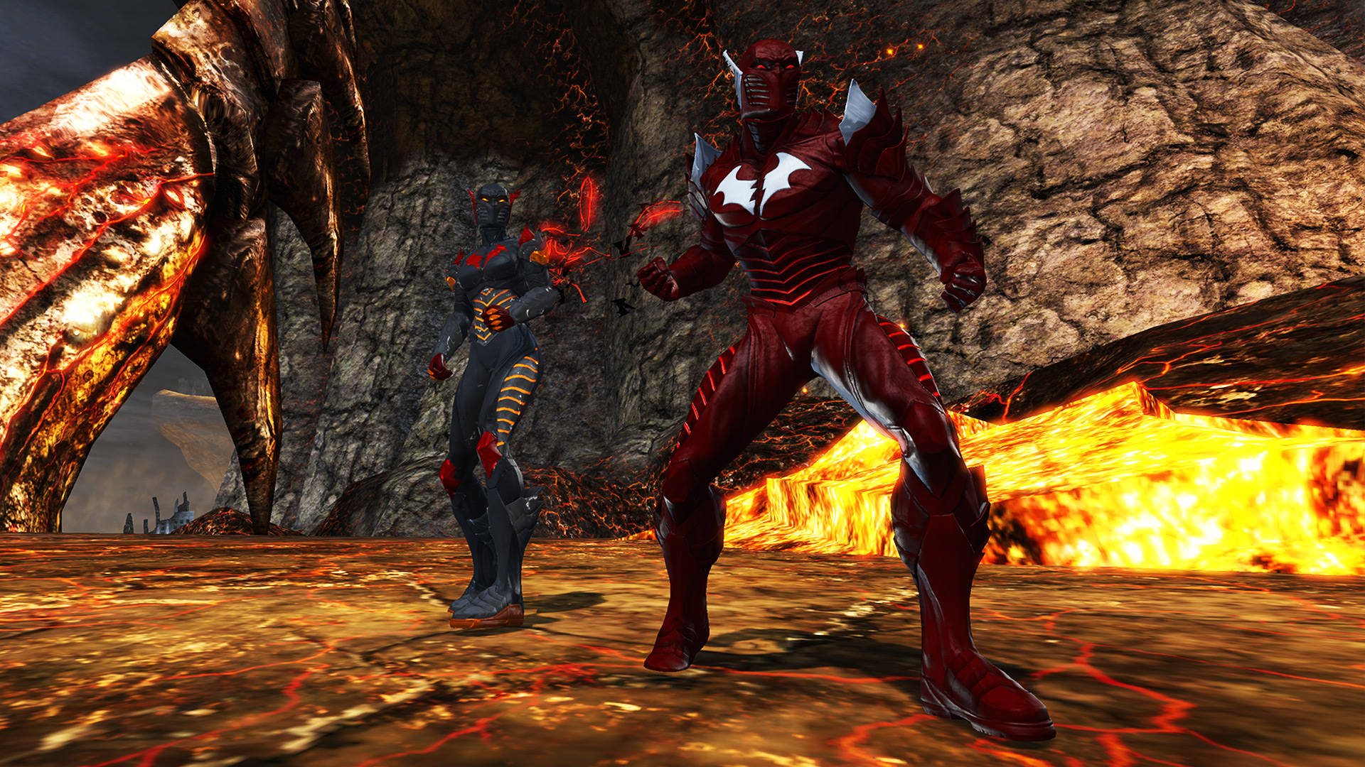 Red 1 Next To Time Capsule Paradox Time Capsule Dc Universe Online