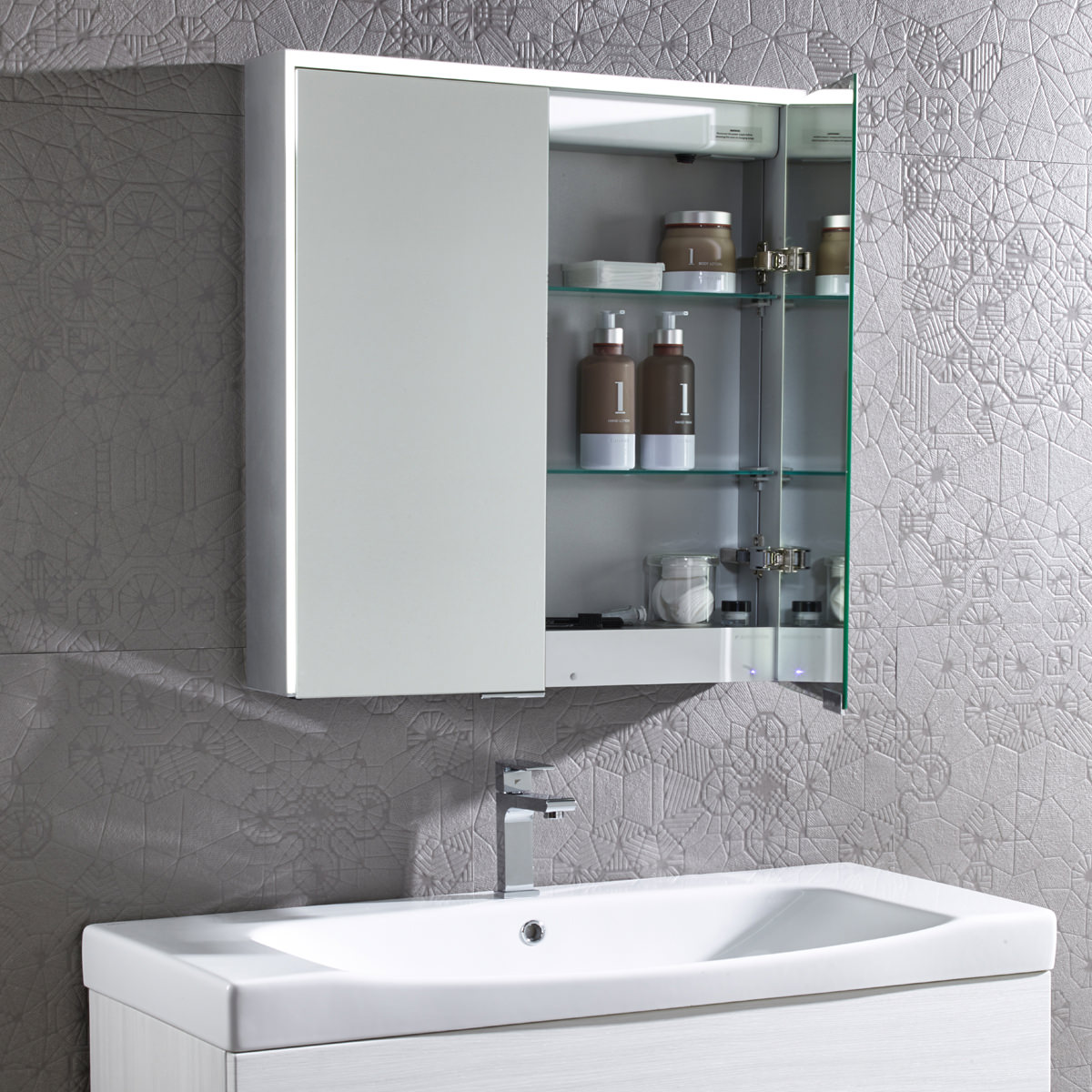 Bathroom Cabinet With Mirror Roper Rhodes Compose Bluetooth Mirror Cabinet Cp65al