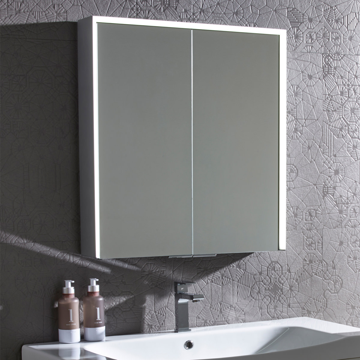 Bathroom Cupboard Mirror Roper Rhodes Compose Bluetooth Mirror Cabinet Cp65al