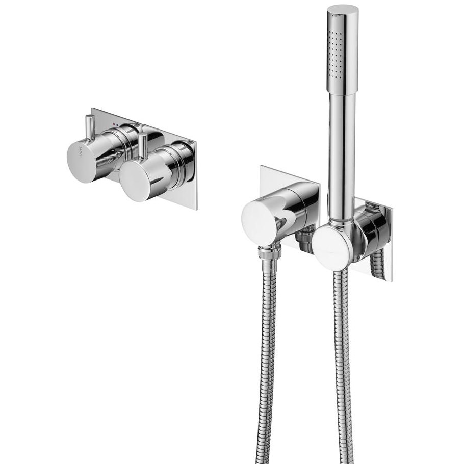 Jado Geometry Jado Geometry A6 Concealed Tub And Shower Mixer With Diverter