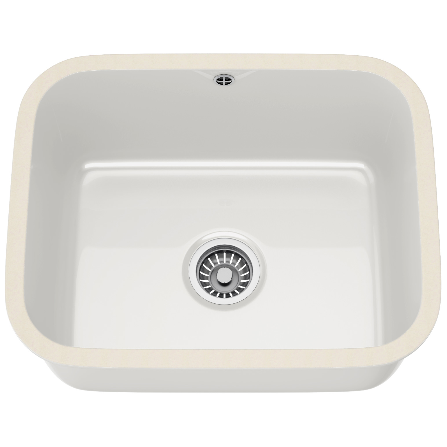 Ceramic Kitchen Sink Franke V And B Vbk 110 50 Ceramic 1 Bowl White