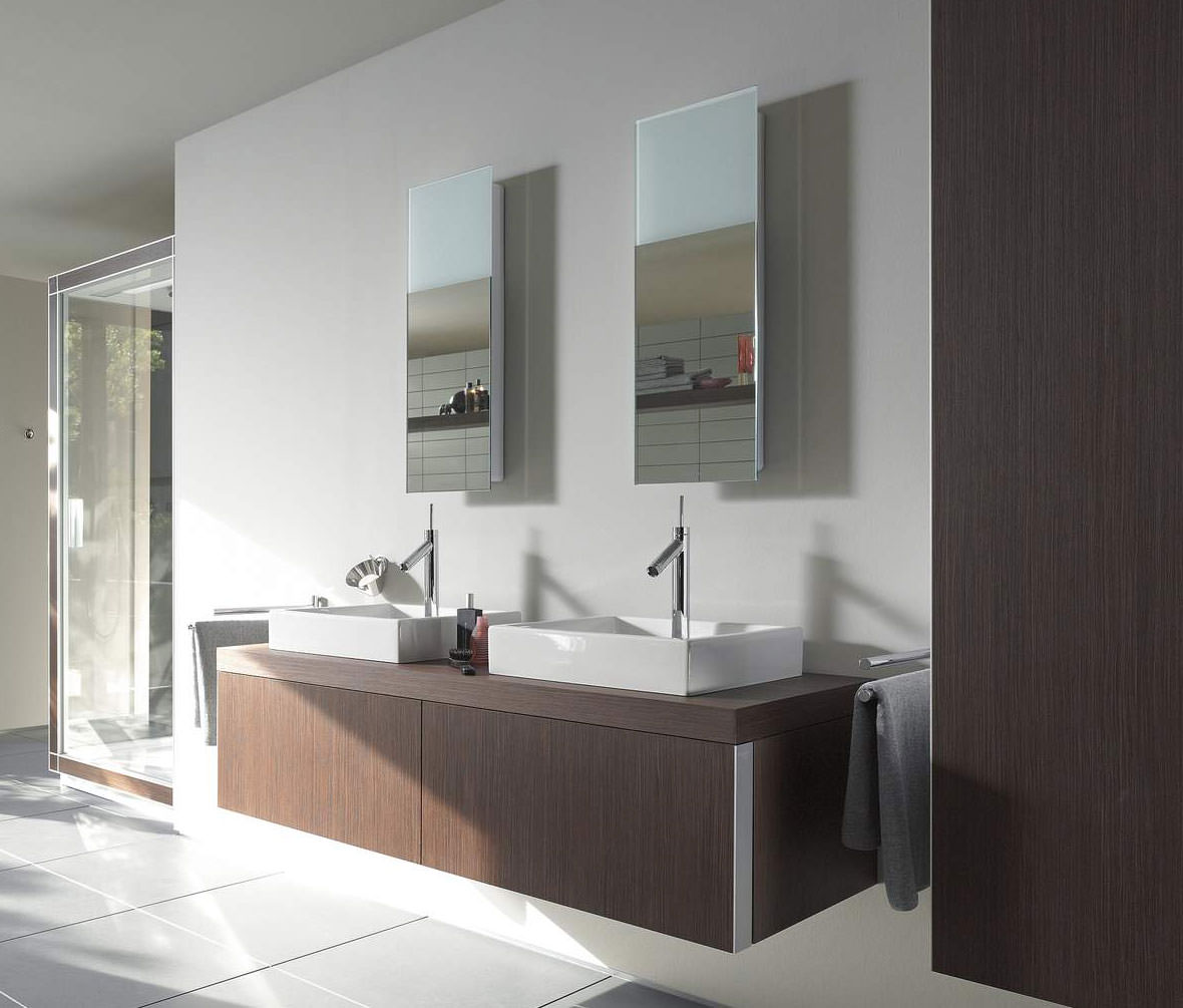 Bathroom Led Mirror Duravit Starck Mirror With Lighting 292mm X 850mm