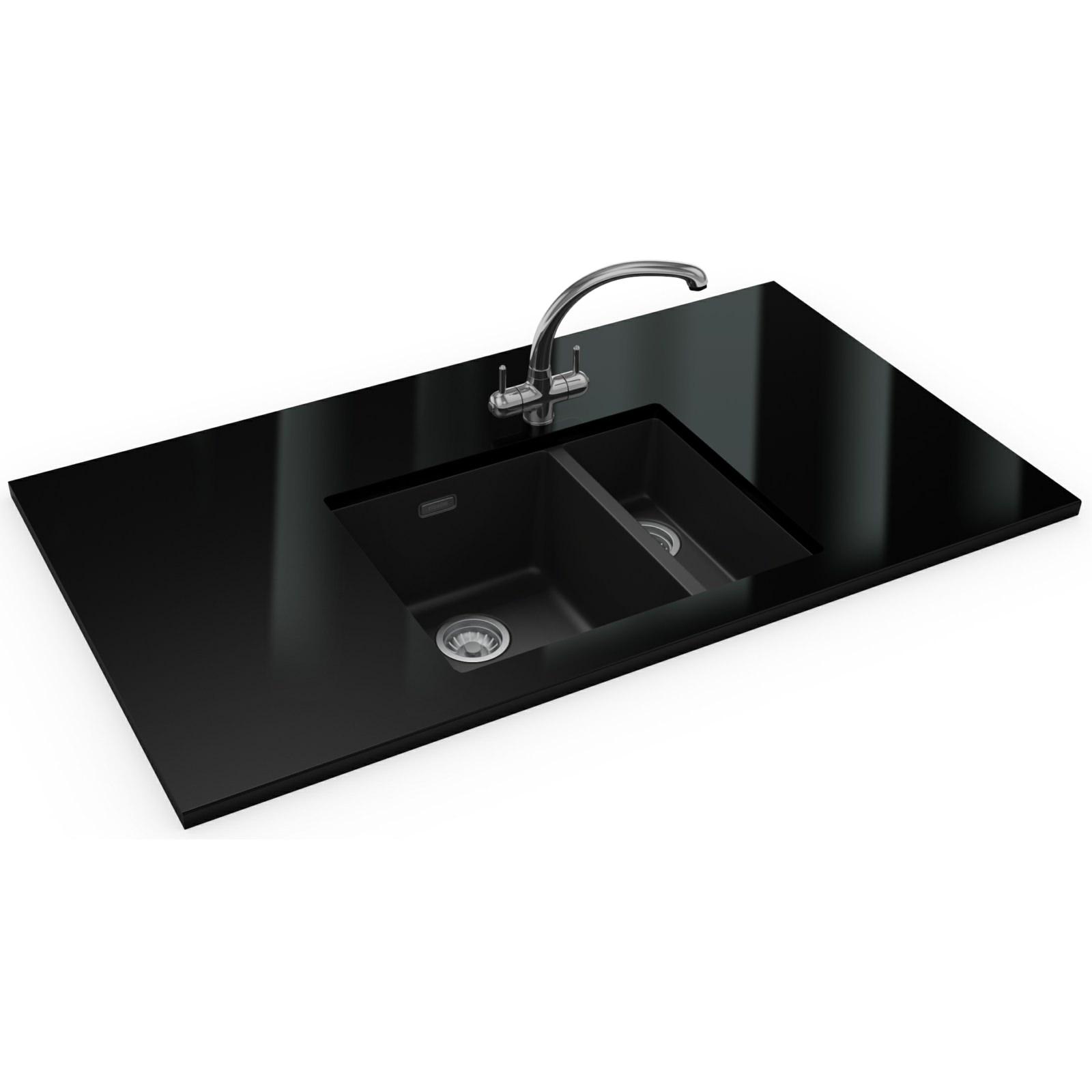Franke Sirius Propack Sid 160 Tectonite Carbon Black Sink