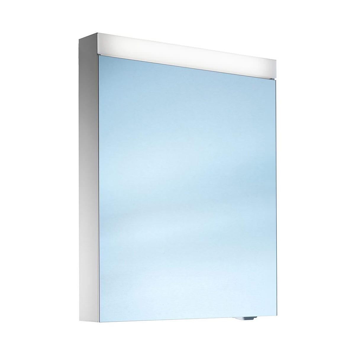 Mirror Bathroom Cabinets Uk Schneider Pataline 1 Door Led Mirror Cabinet 500mm