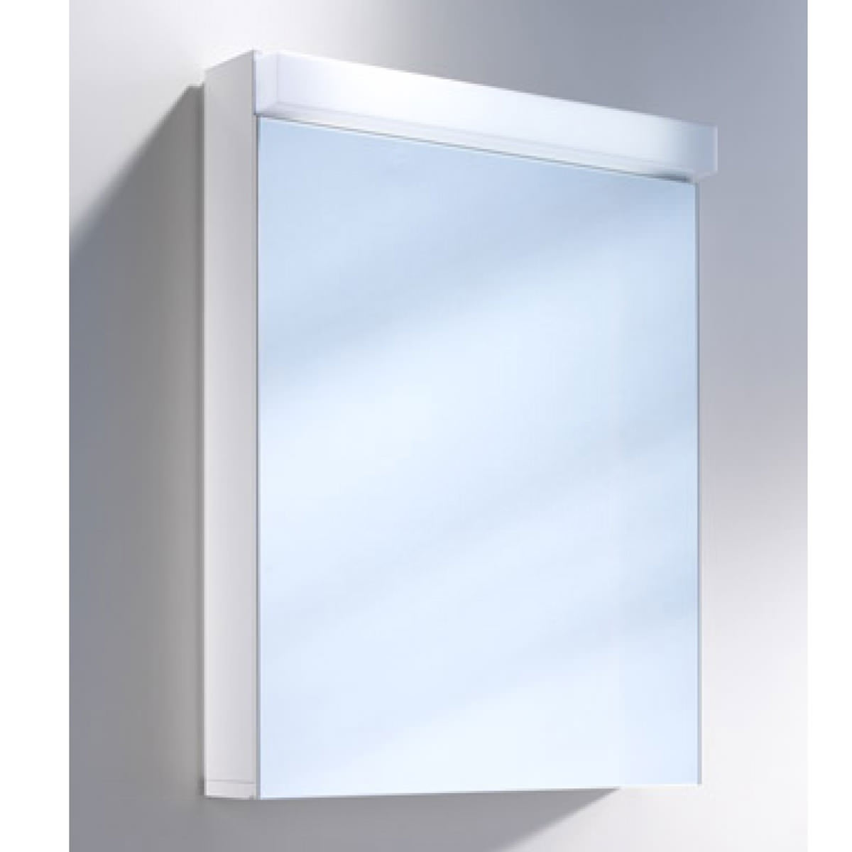 Lowline Cabinet Schneider Lowline 500mm 1 Door Mirror Cabinet With